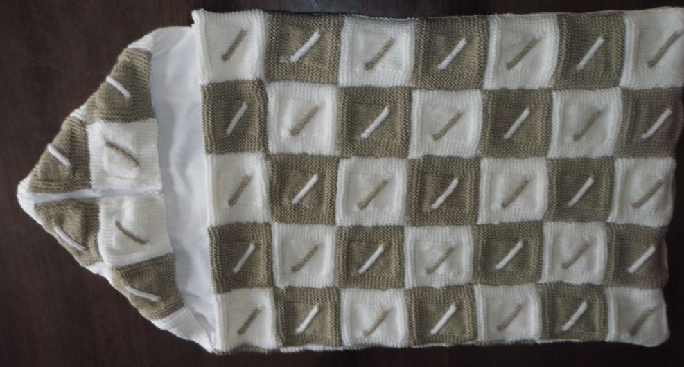 Modele Tricot Couverture Torsade