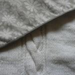 photo tricot modele tricot couverture torsade 3