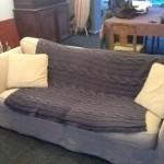photo tricot modele tricot couverture torsade 5
