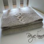 photo tricot modele tricot couverture torsade 9