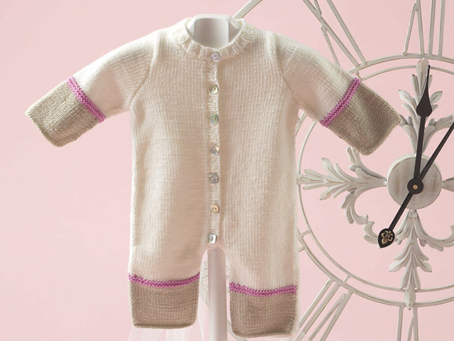photo tricot modele tricot debutant layette 12