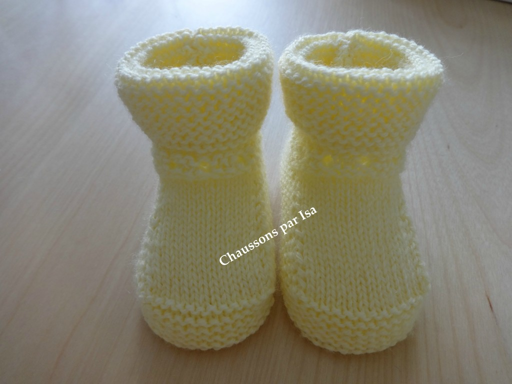photo tricot modele tricot debutant layette 4