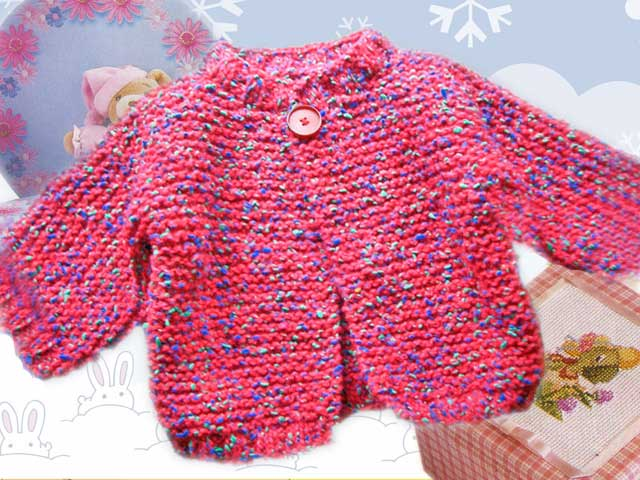 photo tricot modele tricot debutant layette 9