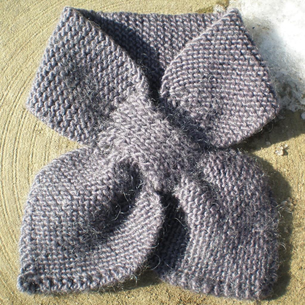 Comment tricoter le point granite - Tricot a la main ...