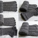 photo tricot modele tricot echarpe femme 11
