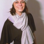 photo tricot modele tricot echarpe femme 14