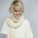 photo tricot modele tricot echarpe femme 8