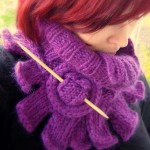 photo tricot modele tricot echarpe hello kitty 15