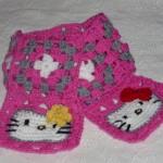 photo tricot modele tricot echarpe hello kitty 5