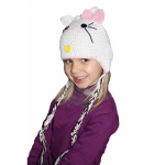 photo tricot modele tricot echarpe hello kitty 9