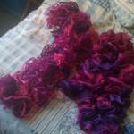 photo tricot modele tricot echarpe katia 11
