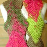 photo tricot modele tricot echarpe katia 18