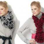 photo tricot modele tricot echarpe katia 6