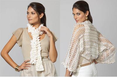 photo tricot modele tricot echarpe katia 8