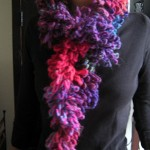 photo tricot modele tricot echarpe laine katia 11