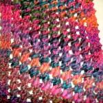 photo tricot modele tricot echarpe laine katia 15