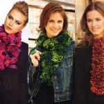 photo tricot modele tricot echarpe laine katia 6