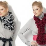 photo tricot modele tricot echarpe laine katia 9
