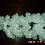 photo tricot modele tricot echarpe spirale 11