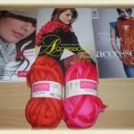 photo tricot modele tricot echarpe spirale 15