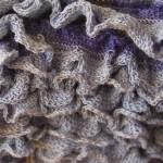 photo tricot modele tricot echarpe spirale 4