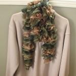 photo tricot modele tricot echarpe spirale 6