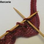 photo tricot modele tricot echarpe spirale 9