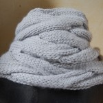 photo tricot modele tricot echarpe tube 2