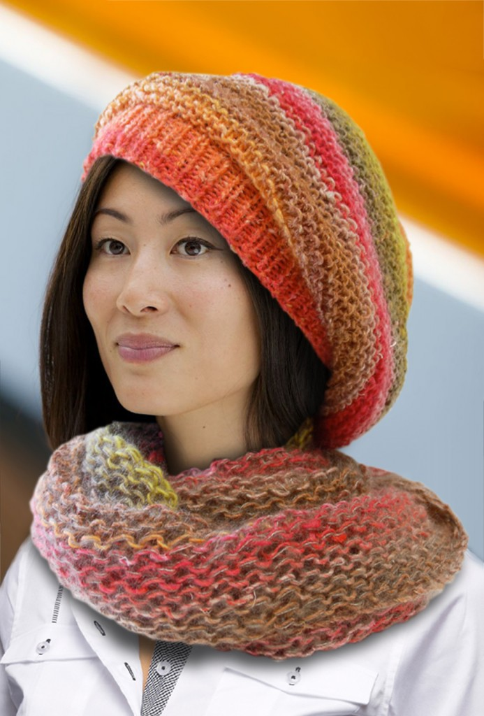 photo tricot modele tricot echarpe tube gratuit 10