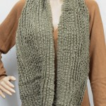 photo tricot modele tricot echarpe tube gratuit 12