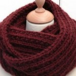photo tricot modele tricot echarpe tube gratuit 13