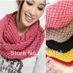 photo tricot modele tricot echarpe tube gratuit 14