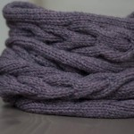 photo tricot modele tricot echarpe tube gratuit 2