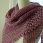 photo tricot modele tricot facile chale 10