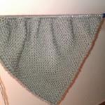 photo tricot modele tricot facile chale 11