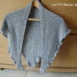 photo tricot modele tricot facile chale 12