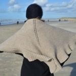 photo tricot modele tricot facile chale 13