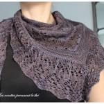 photo tricot modele tricot facile chale 15