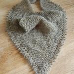 photo tricot modele tricot facile chale 4