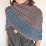 photo tricot modele tricot facile chale 6