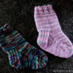 photo tricot modele tricot facile chaussette 10
