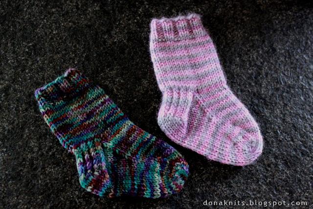 modele tricot chaussette facile