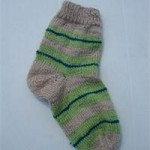 photo tricot modele tricot facile chaussette 11