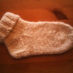 photo tricot modele tricot facile chaussette 18
