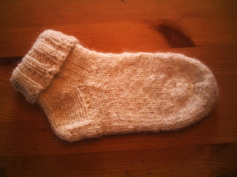 Photo tricot modele tricot facile chaussette 18 - Grosse laine pour tricoter sans aiguille ...