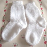 photo tricot modele tricot facile chaussette 3