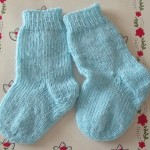 photo tricot modele tricot facile chaussette 4