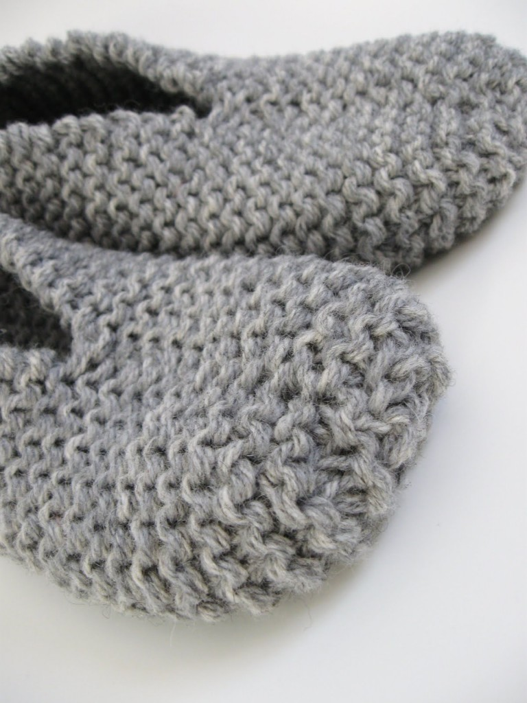 photo tricot modele tricot facile chaussette 5
