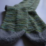 photo tricot modele tricot facile chaussette 7
