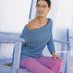 photo tricot modele tricot facile gilet femme 11
